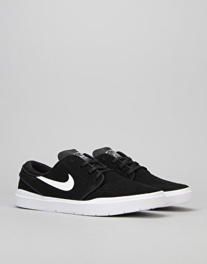 Nike SB Stefan Janoski Hyperfeel Skate Shoes - Black/White