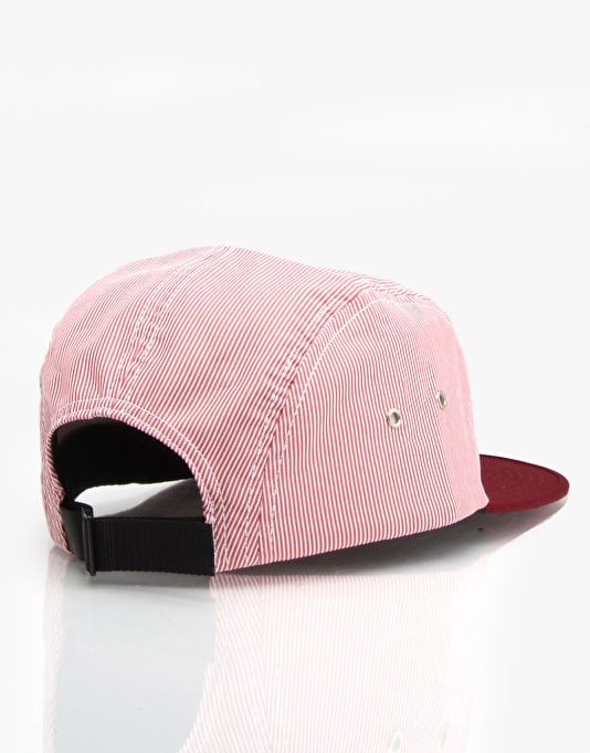 Cliché Wallace 5 Panel Cap - Red