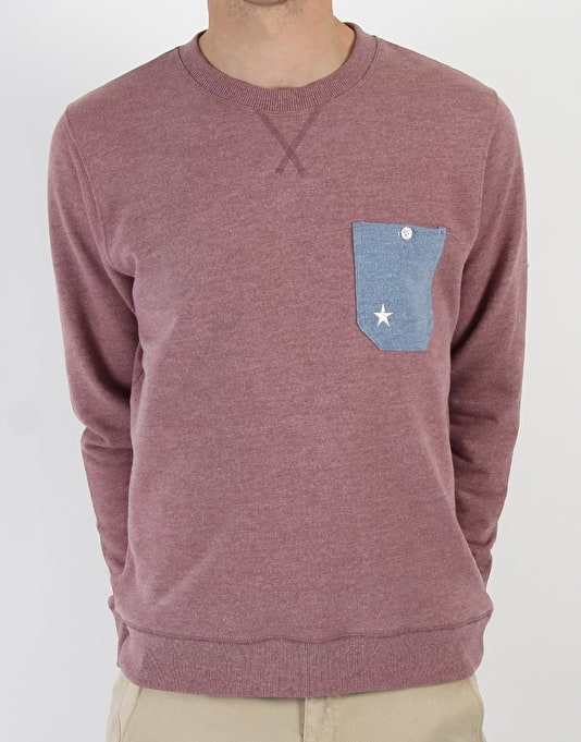 RUE Hemel Premium Over Heather Crew