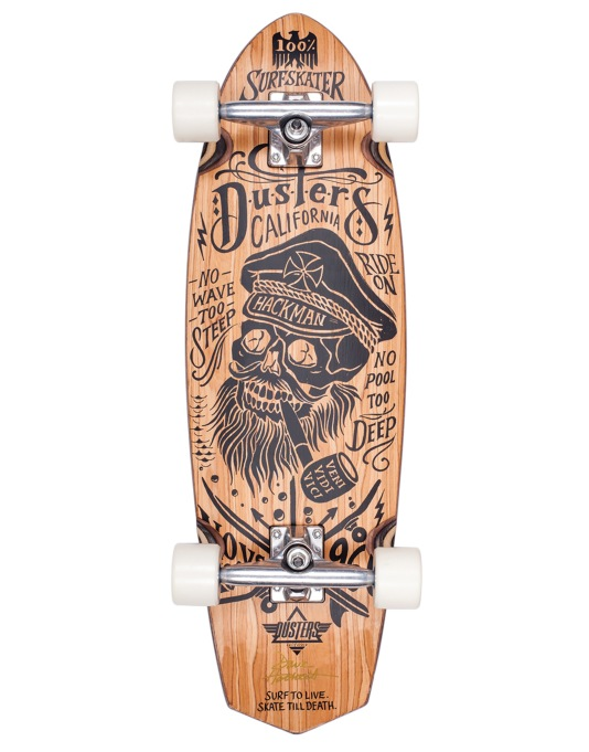 "Dusters x Kryptonics Hackman Cruiser - 9"" x 30"""