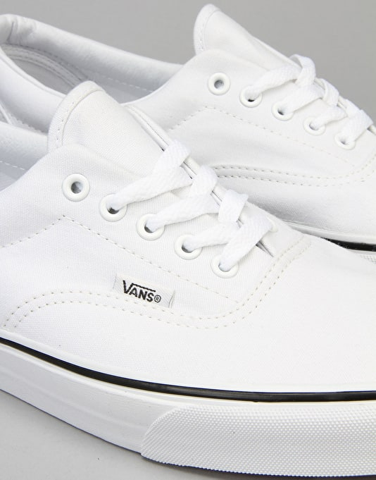 Vans Era Skate Shoes - True White