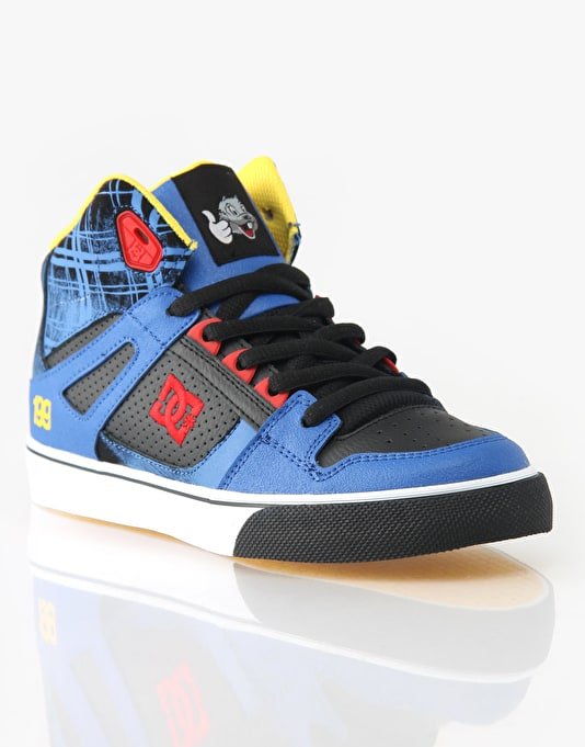 DC Spartan Hi TP Boys Skate Shoes