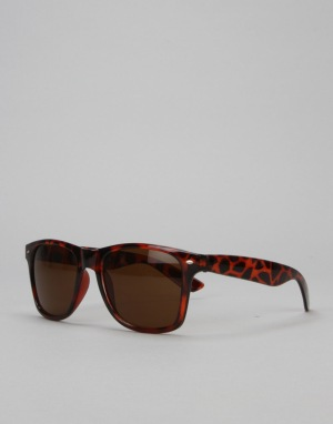 Route One Wayfarer Sunglasses - Tortoise