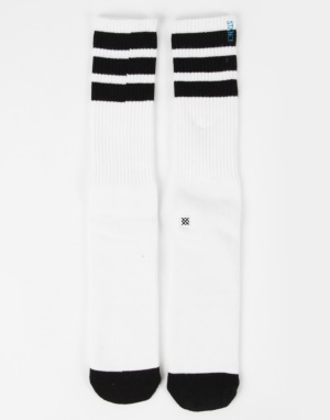 Stance Boneless Pipe Bomb Socks - White