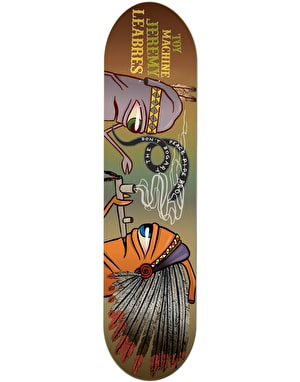 Toy Machine Leabres Peace Pipe Pro Deck - 8.25