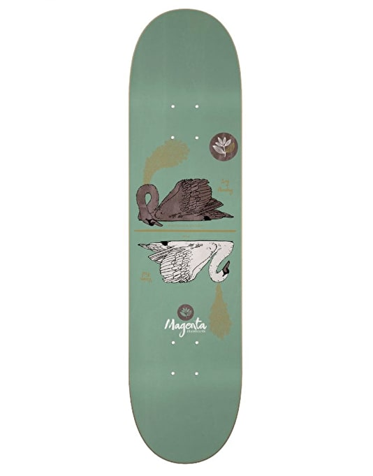 Magenta Panday & Feil Energy Dual Pro Deck - 7.875""