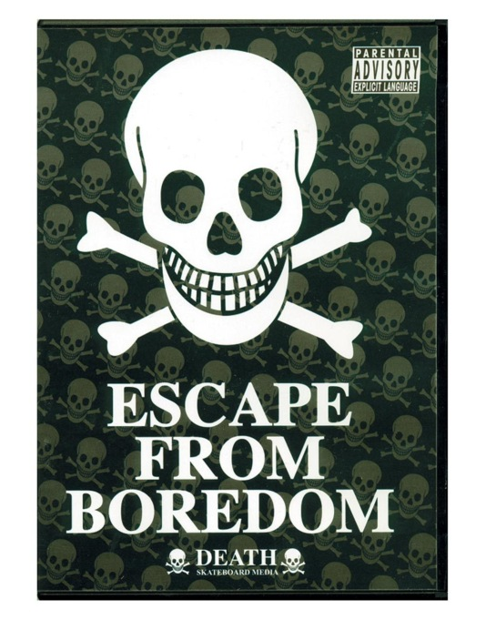 Death Escape From Boredom DVD