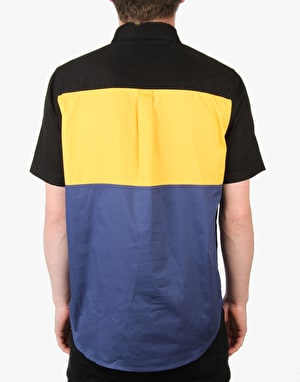 Diamond Supply Co. DLYC S/S Woven Shirt - Black/Yellow