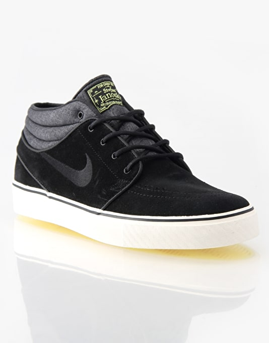 Nike SB Zoom Stefan Janoski Mid Skate Shoes - Electric