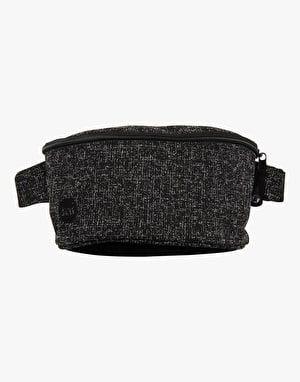 Mi-Pac Crepe Bum Bag - Black