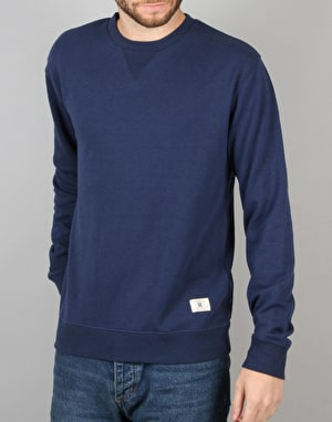 DC Rebel Crew 3 Sweatshirt - Varsity Blue