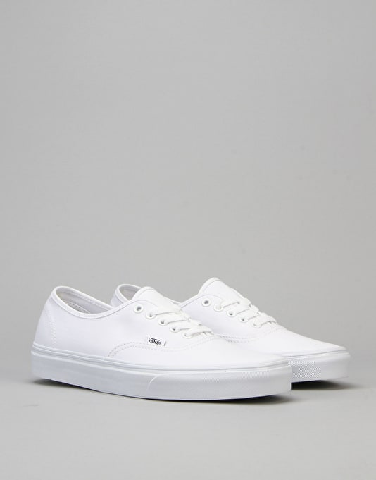 Vans Authentic Plimsolls - True White