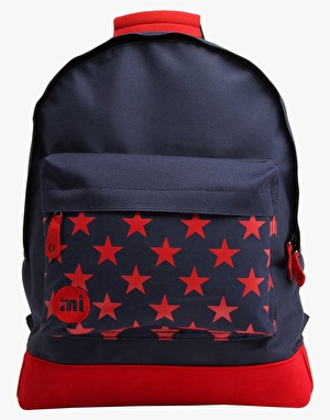 Mi-Pac Stars Backpack - Navy/Red