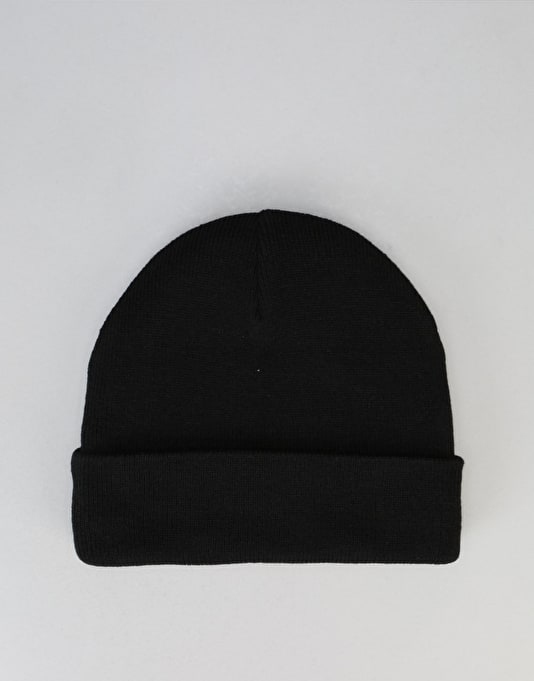 Diamond Supply Co. Brilliant Fold Beanie - Black