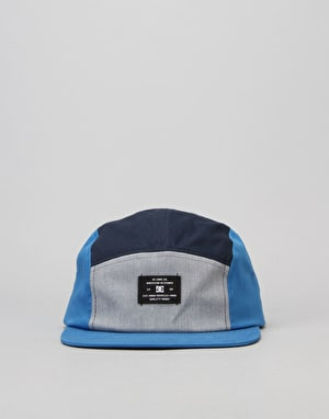 DC Campy 5 Panel Cap - Blue Iris