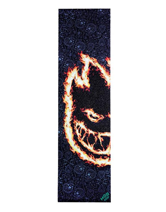 "MOB x Spitfire Charred Remains 9"" Graphic Grip Tape Sheet"
