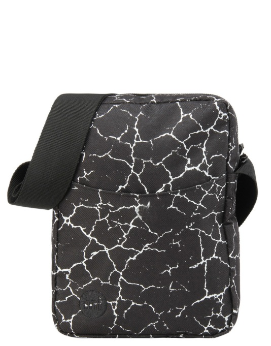Mi-Pac Cracked Flight Bag - Black/Silver