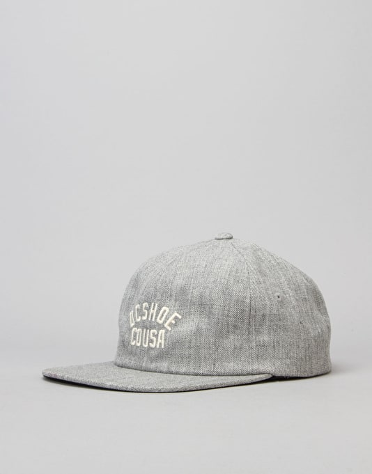 DC Outthere Snapback Cap - Heather Grey