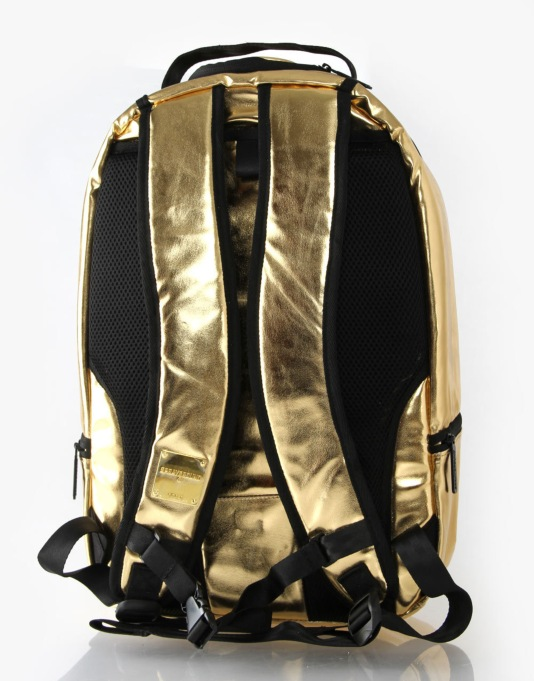 Sprayground Gold Brick Backpack