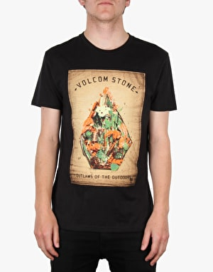 Volcom Nature Stone Basic T-Shirt - Black