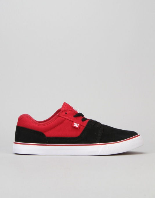 DC Tonik Skate Shoes - Black/Red