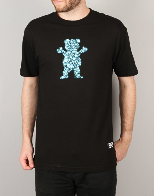 Grizzly Drops OG Bear T-Shirt - Black