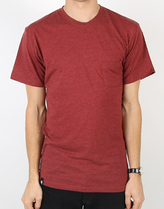 Afends Plain Range Pocket T-Shirt