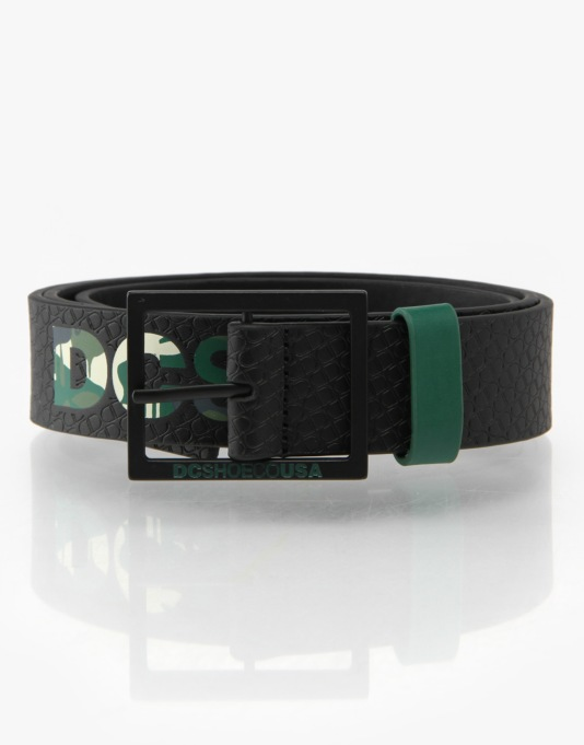 DC Crunderman Leather Belt