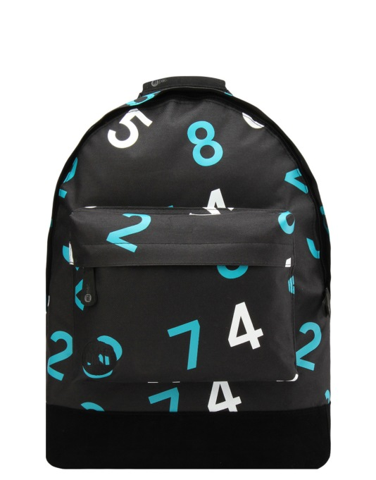 Mi-Pac Numbers Backpack - Black