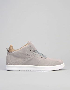 Globe Abyss (Chis Haslam) Skate Shoes - Grey/Tan