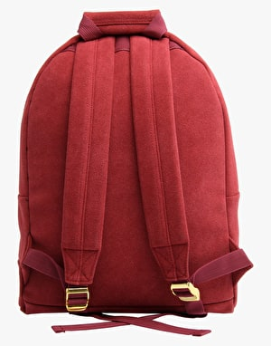 Mi-Pac Suede Backpack - Burgundy