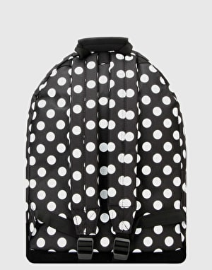 Mi-Pac All Polka Backpack - Black/White