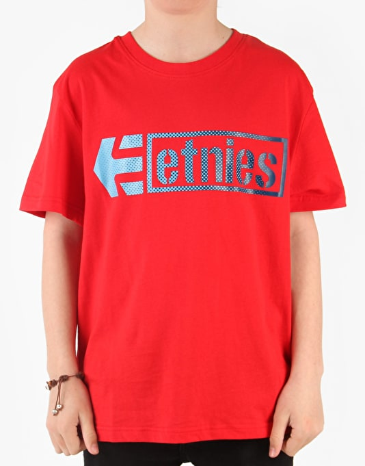 Etnies Stencil Box Boys T-Shirt