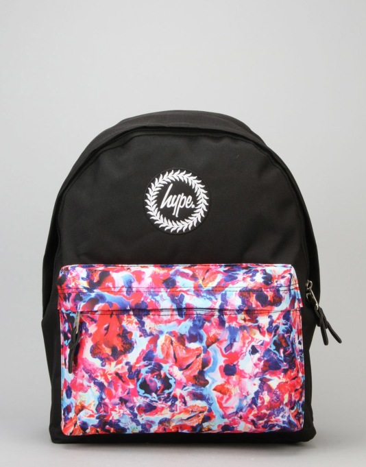 Hype Lucent Rock Pocket Backpack - Black