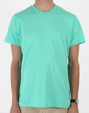 Route One Basic T-Shirt- Light Green