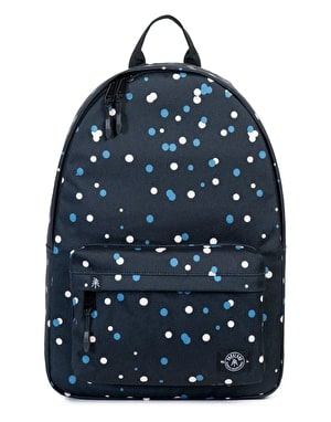 Parkland Vintage Backpack - Black Polka Drops