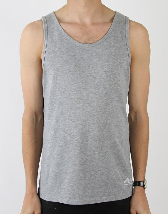Route One Basic Vest - Grey Marl