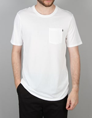 Nike SB Wave T-Shirt - White/White/Rio Teal