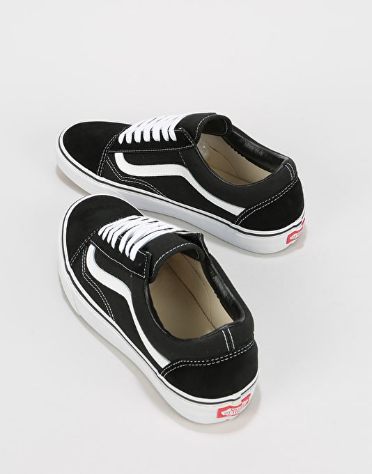 Vans Old Skool Skate Shoes - Black/White