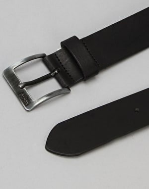 Levis Cloverdale Leather Belt - Regular Black