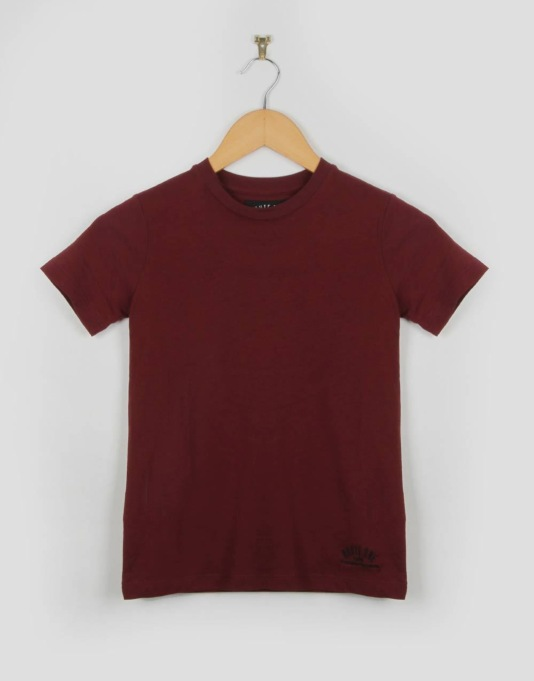 Route One Basic Boys T-Shirt - Deep Red