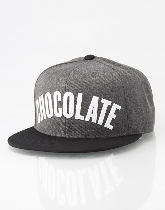Chocolate League Snapback Cap