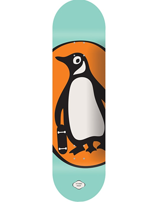 A Third Foot Penguin Team Deck - 8.125""