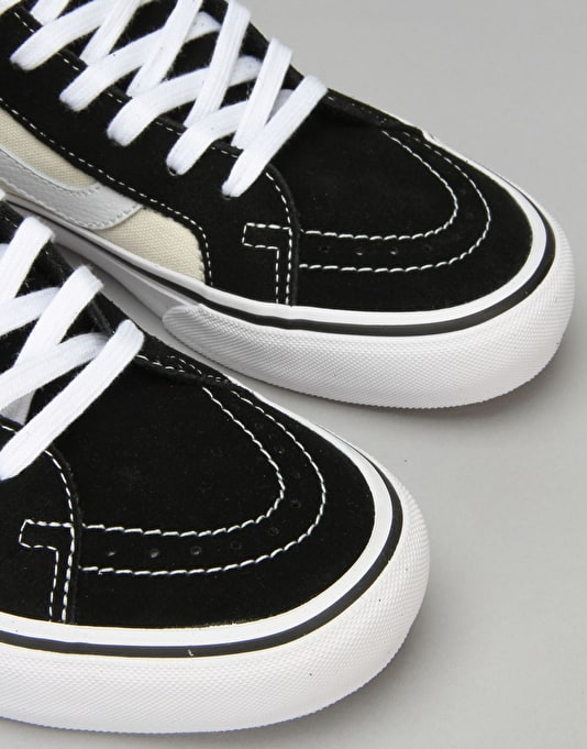 Vans Sk8-Hi Reissue Pro Skate Shoes - 87 Black/Classic White