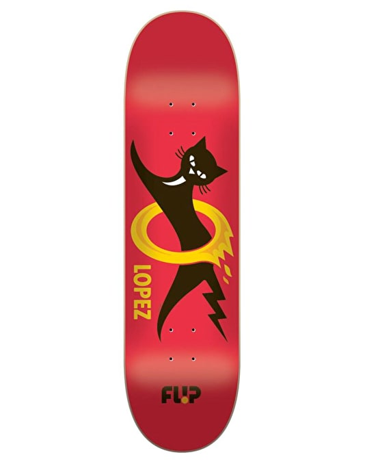 Flip Lopez Black Cat Pro Deck - 8.25""