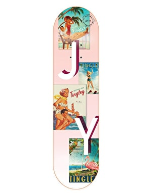 The National Skateboard Co. Young Tingley Pro Deck - 8.38