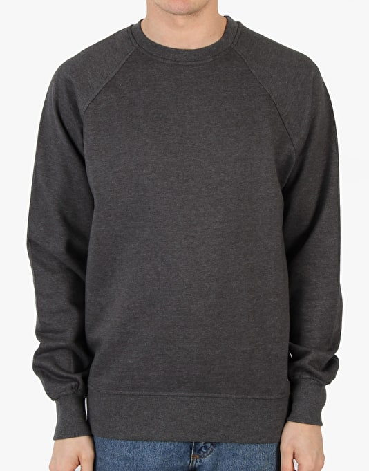 Route One Basic Sweatshirt - Charcoal