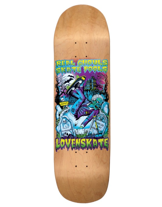 Lovenskate Real Ghouls Skate Pools Team Deck - 8.7""