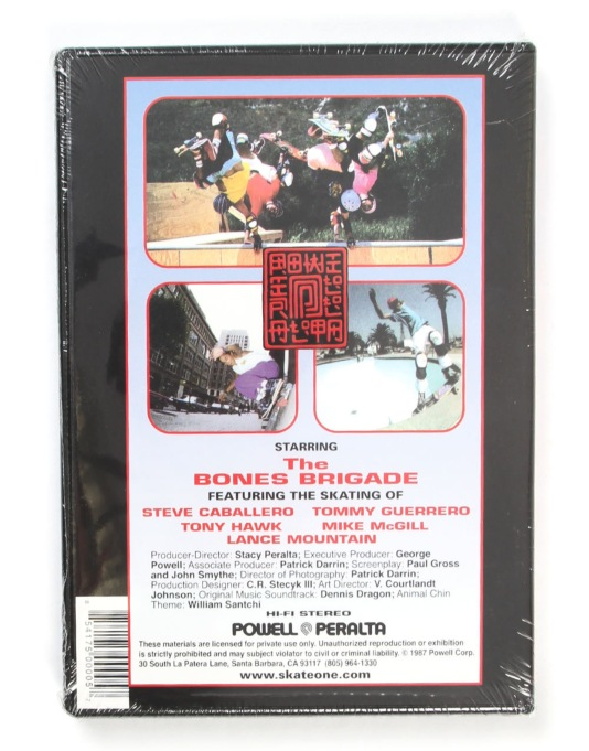 Powell Peralta Animal Chin DVD