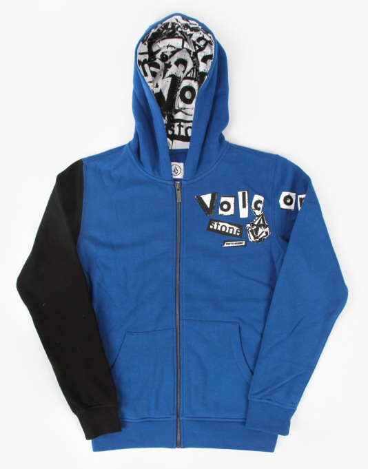 Volcom Trip To Nowhere Boys Zip Hoodie